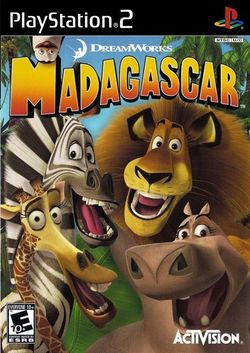 Box artwork for Madagascar.