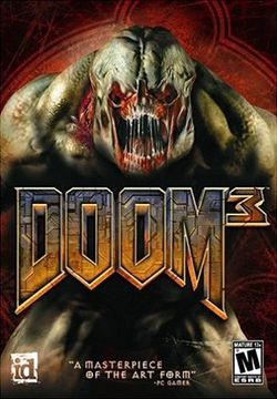 Box artwork for Doom 3.