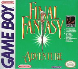 Box artwork for Final Fantasy Adventure.
