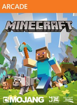 Box artwork for Minecraft.