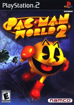 Box artwork for Pac-Man World 2.
