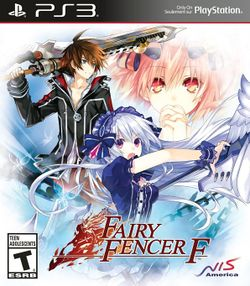 Box artwork for Fairy Fencer F.