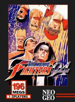 Box artwork for The King of Fighters '94.