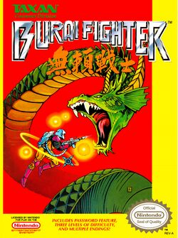 Box artwork for Burai Fighter.