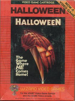 Box artwork for Halloween.