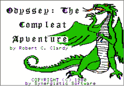 Box artwork for Odyssey: The Compleat Apventure.