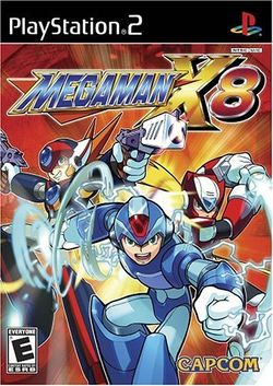 Box artwork for Mega Man X8.
