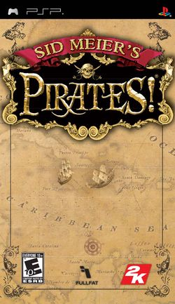 Box artwork for Sid Meier's Pirates!.