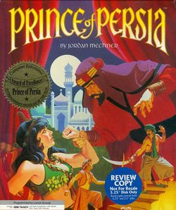 Box artwork for Prince of Persia.