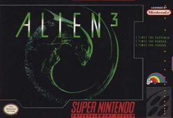 Box artwork for Alien³.