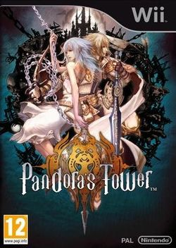 Box artwork for Pandora's Tower.