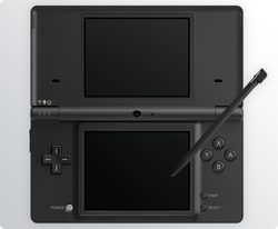 The console image for Nintendo DSi.