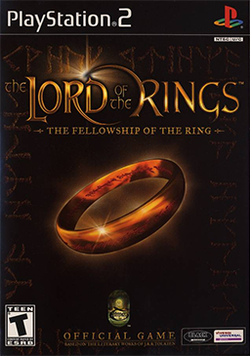 Box artwork for The Lord of the Rings: The Fellowship of the Ring.