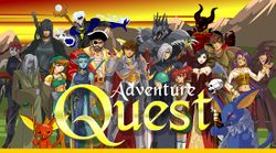 Box artwork for AdventureQuest.
