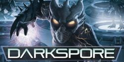 Box artwork for Darkspore.