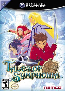 Box artwork for Tales of Symphonia.