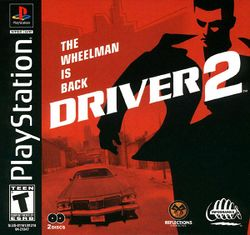 Box artwork for Driver 2.