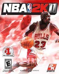 Box artwork for NBA 2K11.