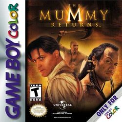 Box artwork for The Mummy Returns.