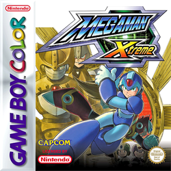 Box artwork for Mega Man Xtreme.