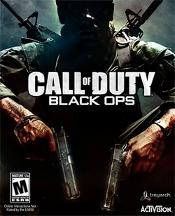 Box artwork for Call of Duty: Black Ops.