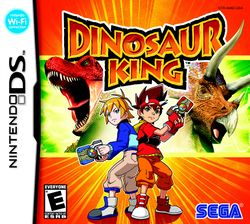 Box artwork for Dinosaur King.