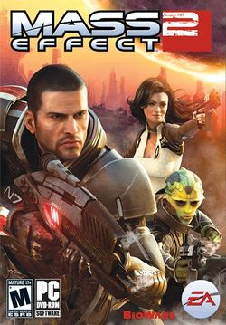 Box artwork for Mass Effect 2.