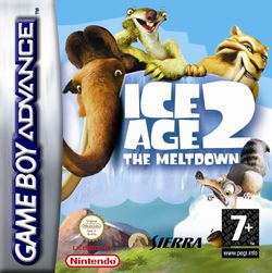 Box artwork for Ice Age 2: The Meltdown.