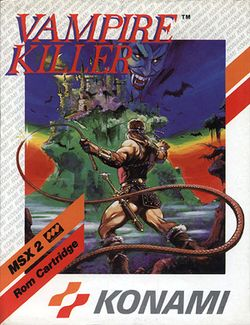 Box artwork for Vampire Killer.