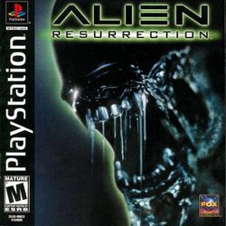 Box artwork for Alien Resurrection.