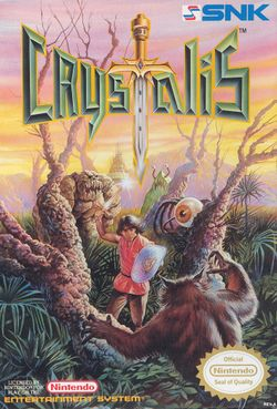 Box artwork for Crystalis.