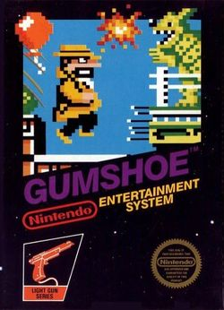 Box artwork for Gumshoe.