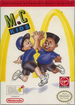 Box artwork for M.C. Kids.