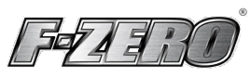 The logo for F-Zero.