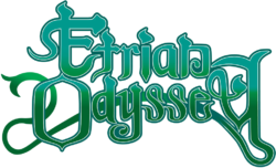 The logo for Etrian Odyssey.
