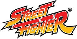 The logo for Street Fighter.