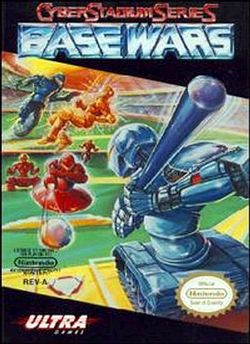 Box artwork for Cyber Stadium Series: Base Wars.
