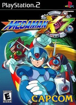 Box artwork for Mega Man X7.