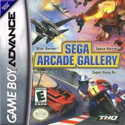 Box artwork for Sega Arcade Gallery.