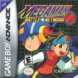 Box artwork for Mega Man Battle Network.