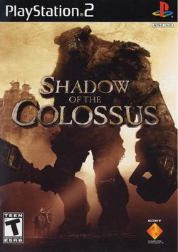 Box artwork for Shadow of the Colossus.