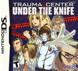 Box artwork for Trauma Center: Under the Knife.