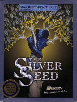 Box artwork for Ultima VII Part Two: Serpent Isle - The Silver Seed.