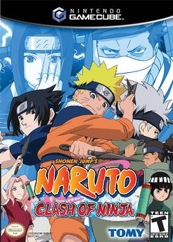Box artwork for Naruto: Clash of Ninja.