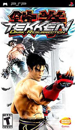 Box artwork for Tekken 5: Dark Resurrection.