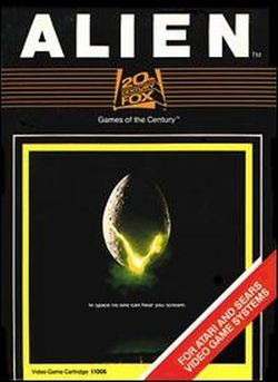 Box artwork for Alien.