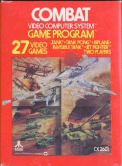 Box artwork for Combat.