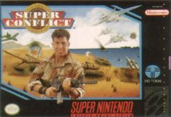 Box artwork for Super Conflict: The Mideast.