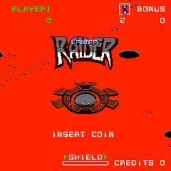 Box artwork for Crater Raider.