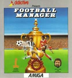 Box artwork for Football Manager.